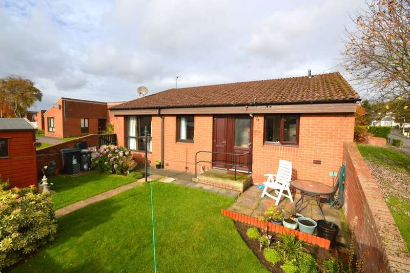 2 Bedrooms Semi Detached Bungalow for sale in Lyneburn Crescent, Halbeath, Dunfermline, KY11