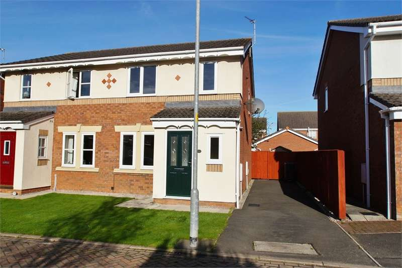 3 Bedrooms Semi Detached House for sale in CA1 2WG Whimbrel Drive, Kingfisher Park, Carlisle, Cumbria