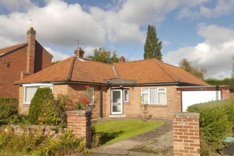 3 Bedrooms Detached Bungalow for sale in The Avenue Park Estate, Haxby, York, YO32