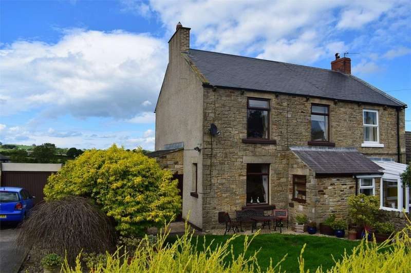3 Bedrooms Semi Detached House for sale in 10 Copley Lane, Butterknowle, Bishop Auckland, Durham