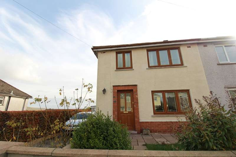 3 Bedrooms Semi Detached House for sale in Highlands Road, Beaufort, Ebbw Vale, NP23