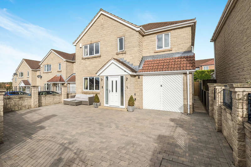 4 Bedrooms Detached House for sale in Swinston Hill Gardens, Dinnington, Sheffield, S25