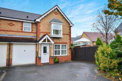 3 Bedrooms Semi Detached House for sale in Highland Drive, Sutton In Ashfield, Nottinghamshire, Notts