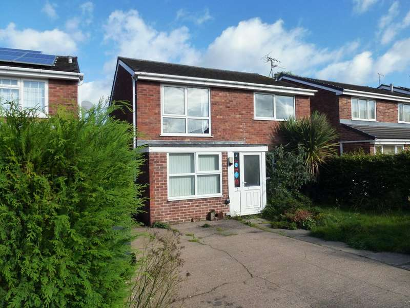 4 Bedrooms Detached House for sale in The Spinney, Castle Donington