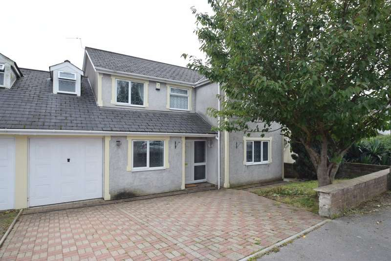 4 Bedrooms Semi Detached House for sale in 7 Joslin Road, Coity, Bridgend, Bridgend County Borough, CF35 6BD.