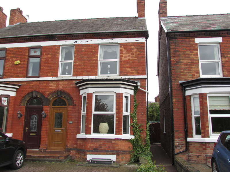 3 Bedrooms Semi Detached House for sale in Church Road, Northwich