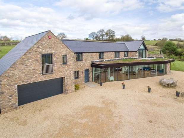 6 Bedrooms Detached House for sale in West Horrington, Wells