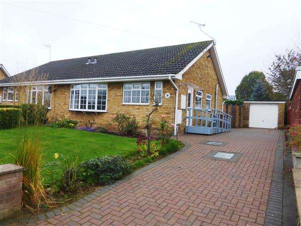 2 Bedrooms Semi Detached Bungalow for sale in Fir Close, Scunthorpe