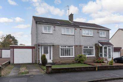 3 Bedrooms Semi Detached House for sale in Pentland Drive, Renfrew