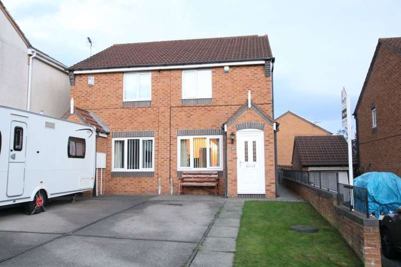 2 Bedrooms Semi Detached House for sale in Ingleborough Close, Washington, NE37