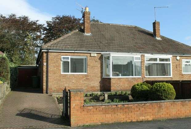 2 Bedrooms Semi Detached Bungalow for sale in Priory Close, Guisborough