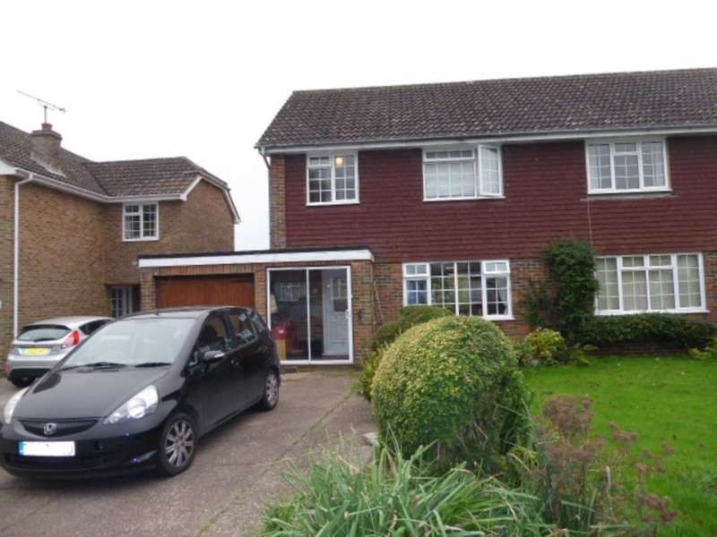 3 Bedrooms Semi Detached House for sale in Hayes Close, Ringmer