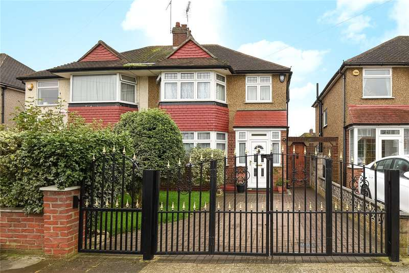 4 Bedrooms Semi Detached House for sale in Diamond Road, Ruislip, Middlesex, HA4