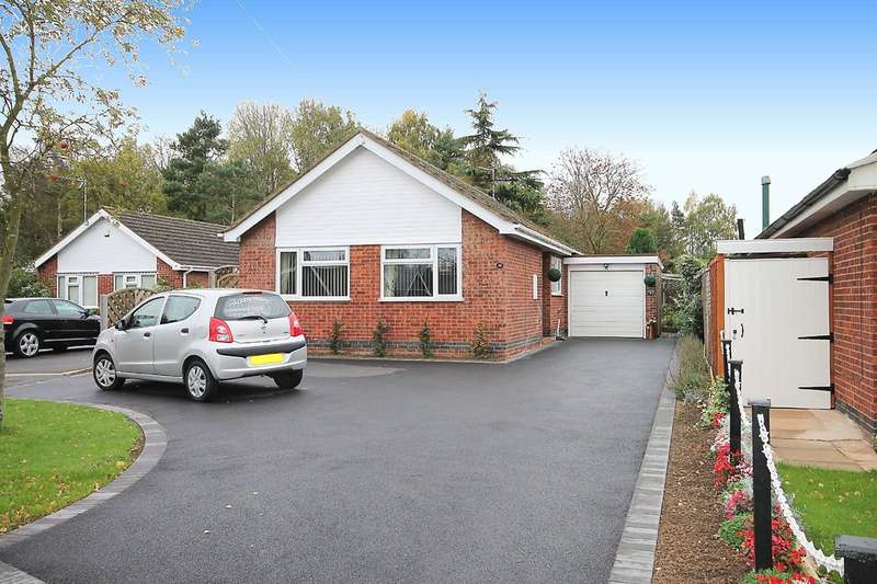 2 Bedrooms Detached Bungalow for sale in Highfield Close, Sheepy Magna, CV9 3RH