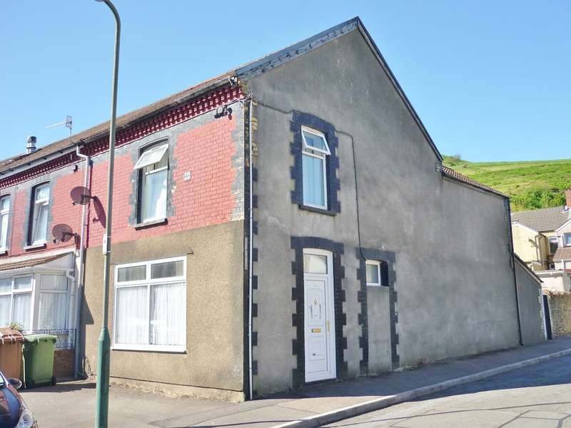 3 Bedrooms End Of Terrace House for sale in Tridwr Road, Abertridwr, Caerphilly, CF83