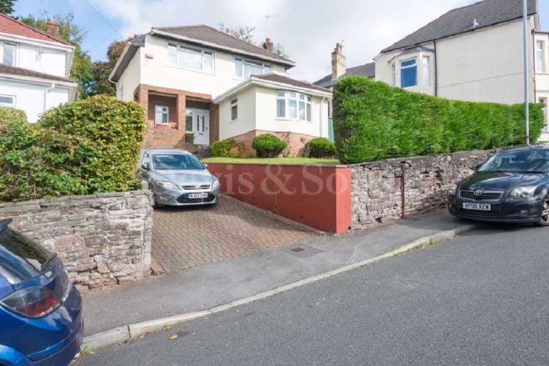 3 Bedrooms Detached House for sale in St. Johns Road, Off Chepstow Road, Newport. NP19 8GR