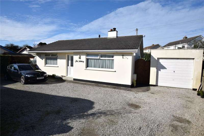 2 Bedrooms Detached Bungalow for sale in Carne View Close, Camborne, Cornwall