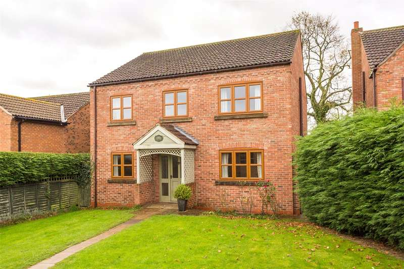 4 Bedrooms Detached House for sale in Chapel Close, North Duffield, Selby, YO8