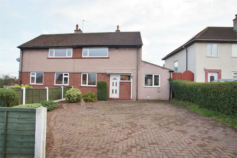 2 Bedrooms Semi Detached House for sale in CA1 3QQ Pennine Way, Harraby, Carlisle, Cumbria