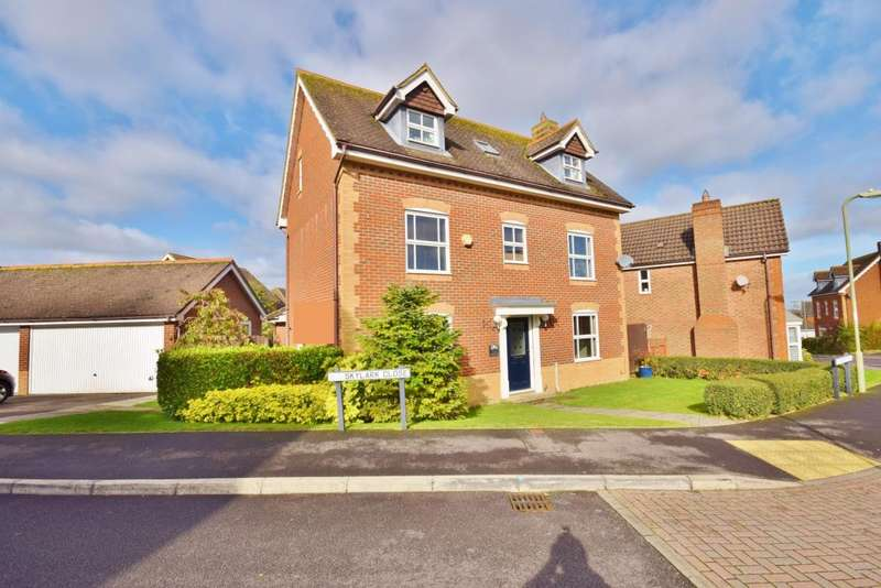 5 Bedrooms Detached House for sale in Gabriel Park, Basingstoke, RG22