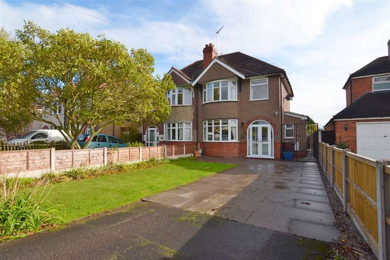 3 Bedrooms Semi Detached House for sale in Sandon Road, Stafford