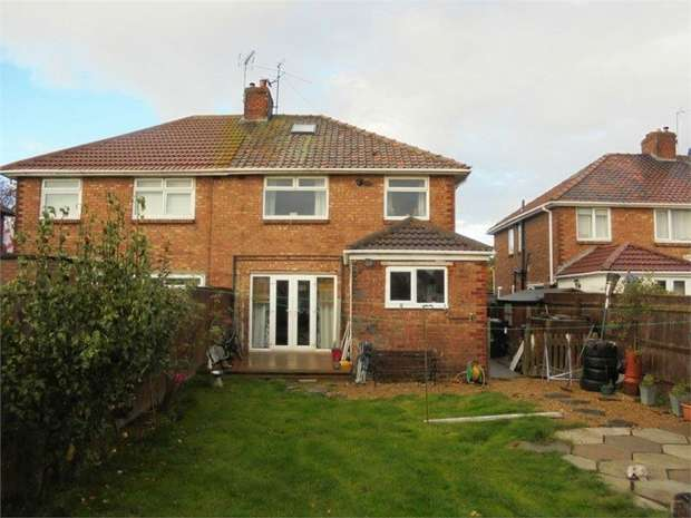 3 Bedrooms Semi Detached House for sale in Asterley Drive, Middlesbrough, North Yorkshire