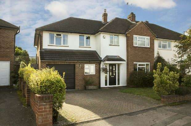 4 Bedrooms Semi Detached House for sale in Rowland Way, Earley, Reading