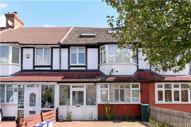 4 Bedrooms Terraced House for sale in Dahlia Gardens, MITCHAM, Surrey, CR4