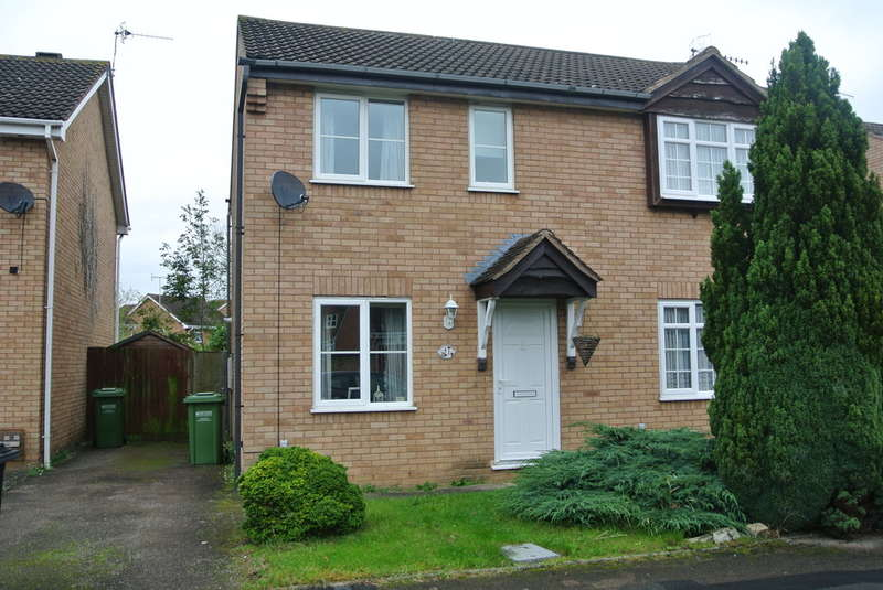 2 Bedrooms Semi Detached House for sale in Hazel Avenue, Evesham