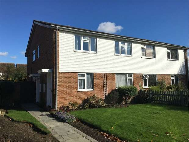 2 Bedrooms Maisonette Flat for sale in Larch Crescent, West Ewell
