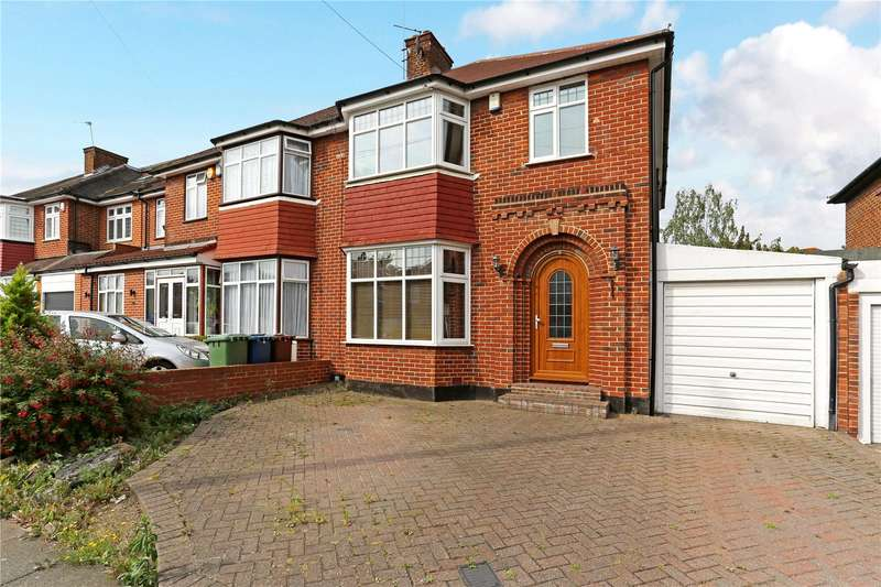 4 Bedrooms Semi Detached House for sale in Bush Grove, Stanmore, HA7