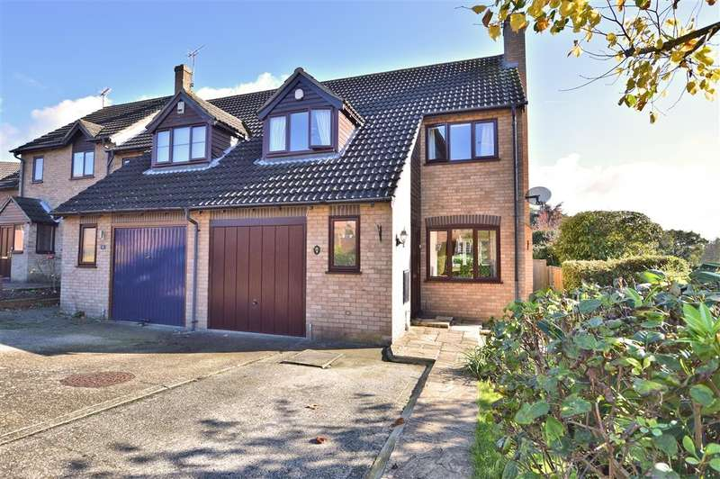 3 Bedrooms End Of Terrace House for sale in Sorrel Close, Burghfield Common, Reading, RG7