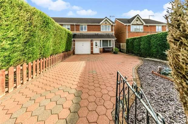 3 Bedrooms Semi Detached House for sale in Linton Burn Park, Widdrington, Morpeth, Northumberland