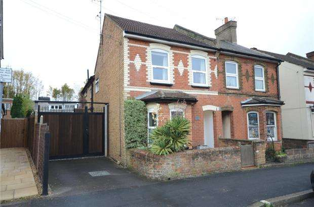 4 Bedrooms Semi Detached House for sale in St. Georges Road, Aldershot, Hampshire