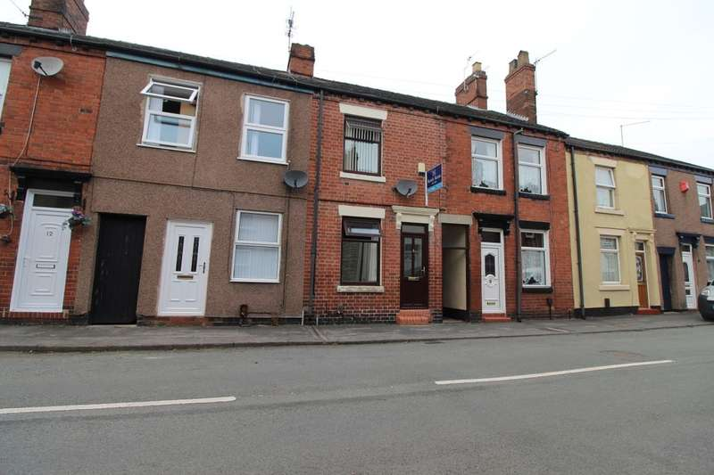 3 Bedrooms Terraced House for sale in Grove Street, Newcastle, ST5