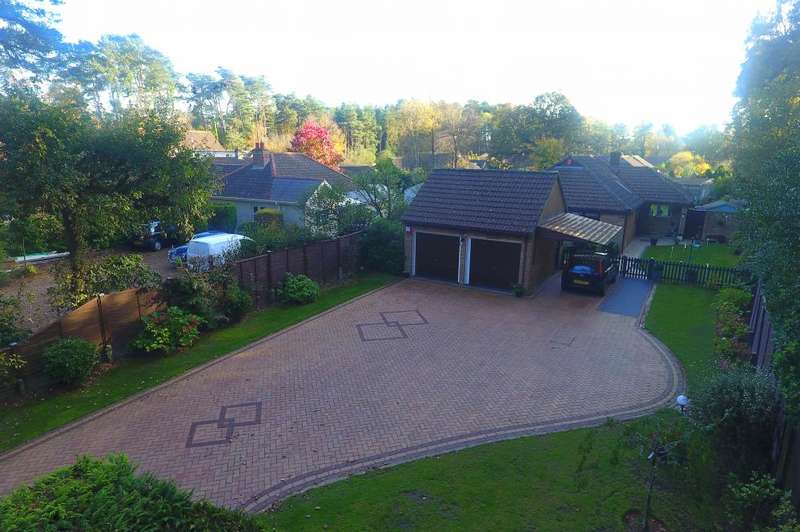 3 Bedrooms Bungalow for sale in Ashley Heath, BH24 2EJ