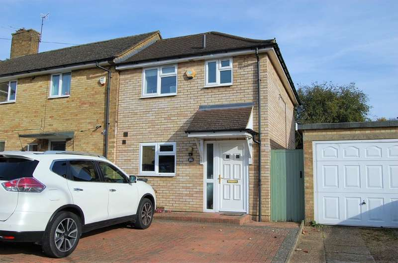 2 Bedrooms End Of Terrace House for sale in New Park Drive, Hemel Hempstead