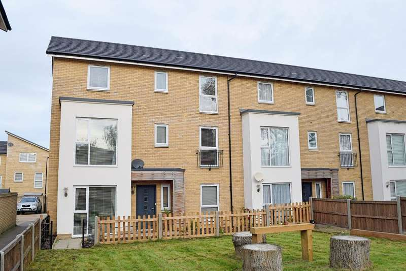 4 Bedrooms End Of Terrace House for sale in Tanyard Place, Harlow, Essex, CM20 2FF