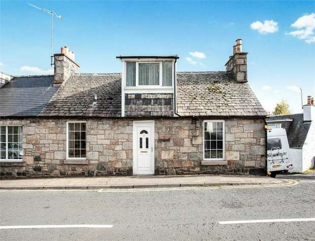 3 Bedrooms End Of Terrace House for sale in High Street, New Galloway, Castle Douglas, Dumfries and Galloway
