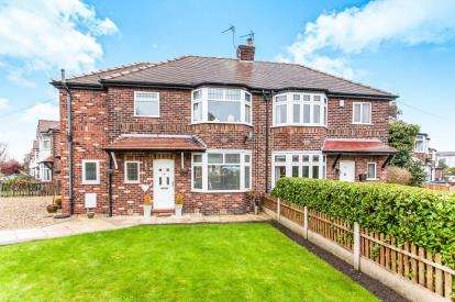 4 Bedrooms Semi Detached House for sale in Glebe Avenue, Grappenhall, Warrington
