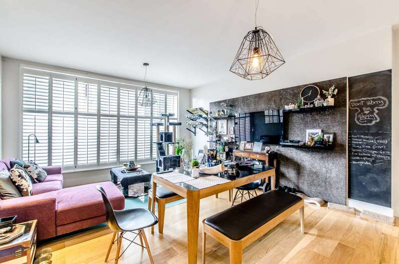2 Bedrooms Maisonette Flat for sale in Republic Court, Kentish Town, NW5