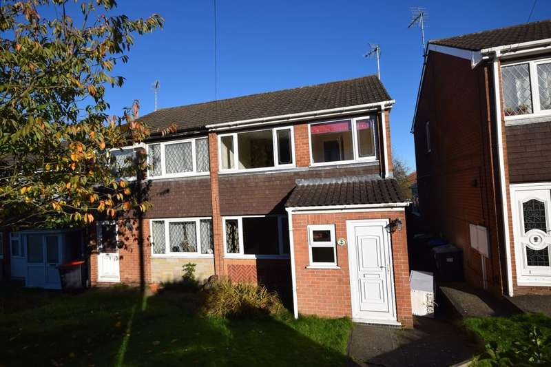 3 Bedrooms Semi Detached House for sale in The Dell, Kirkby-In-Ashfield, Nottingham, NG17