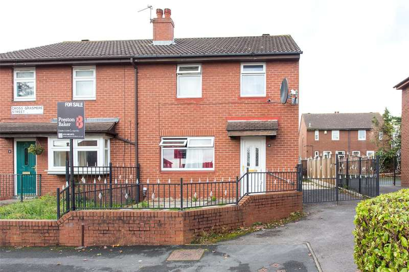 3 Bedrooms Semi Detached House for sale in Cross Grasmere Street, Leeds, West Yorkshire, LS12
