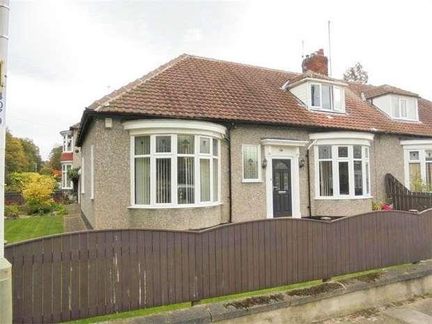 4 Bedrooms Semi Detached Bungalow for sale in Milbank Crescent, Darlington, Durham
