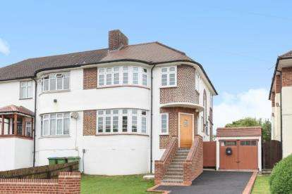3 Bedrooms Semi Detached House for sale in Brownspring Drive, London