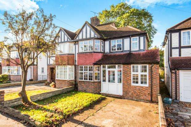 4 Bedrooms Semi Detached House for sale in New Malden, Surrey, .