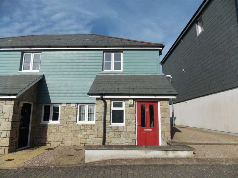 2 Bedrooms End Of Terrace House for sale in Whym Kibbal Court, Redruth
