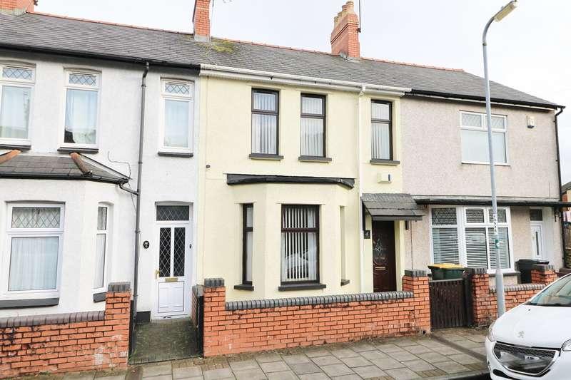 3 Bedrooms Terraced House for sale in Vivian Road, Newport, NP19