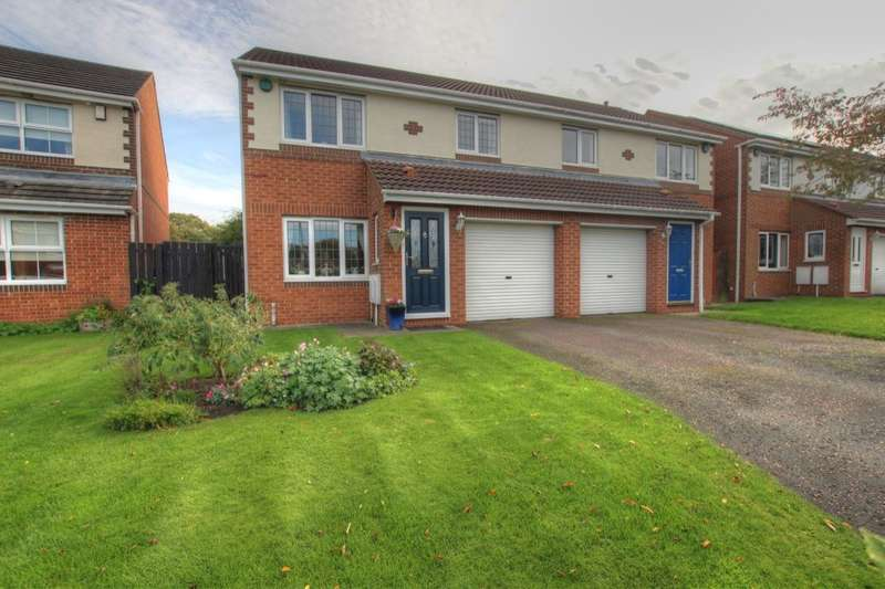 4 Bedrooms Semi Detached House for sale in St. Marys Drive, West Rainton, Houghton Le Spring, DH4
