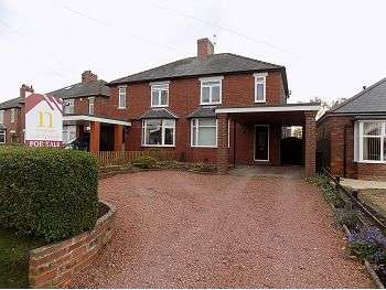 3 Bedrooms Semi Detached House for sale in Scotby Road, Carlisle, CA4 8BG
